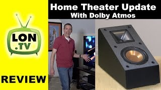 Home Theater Tour & New Klipsch Dolby Atmos Speakers!