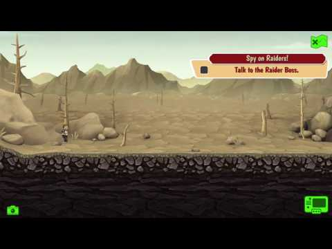 Spy On Raiders | Fallout Shelter Daily Quest