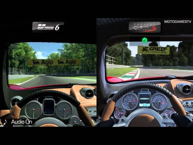 Gran Turismo 6 Vs A PC Racing Game