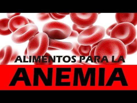 Alimentos para la anemia – Alimentos con hierro y acido folico - Vitaminas para la anemia