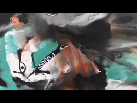 Saïd Ouarzaz, Galerie Delacroix, Tanger