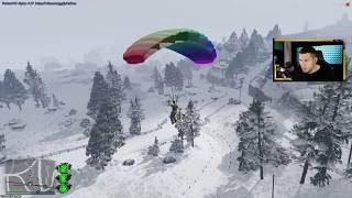 Wir landen auf der Zombie Insel! GTA 5 Mod #1
