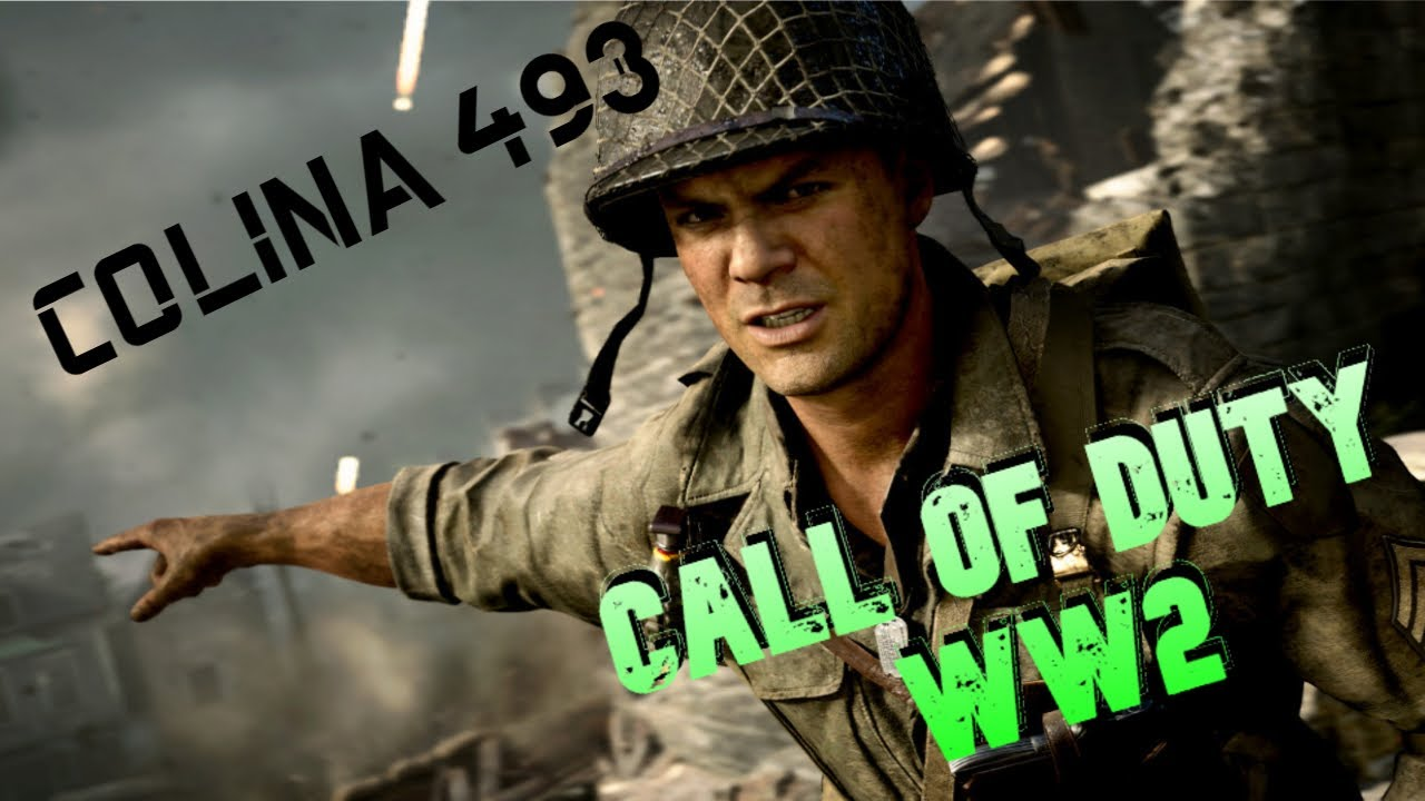 Call Of Duty Ww2 Campaña Cap 8 Colina 493 Esp Youtube