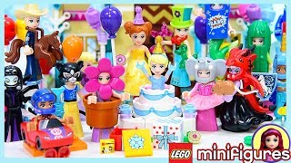 Lego Minifigures Costume Party Series 18 Complete Set Disney Princess Dress Up Silly Play Kids Toys