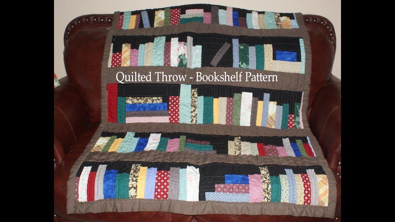 Bookcase Quilt Pattern Cool Design