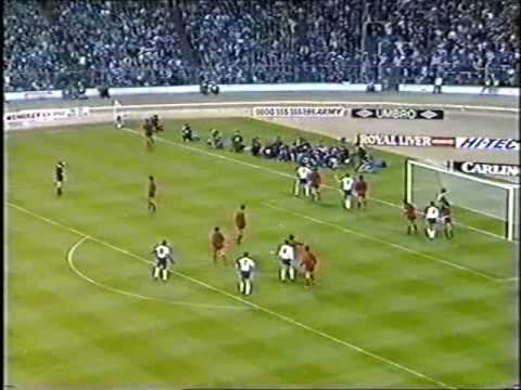 England - Albania 26 April 1989 1st half 1/2