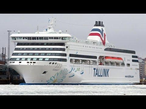 Паром Хельсинки - Таллин с ночёвкой на борту