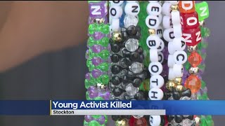 Young Stockton Activist Killed