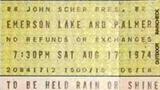 Emerson, Lake & Palmer - Aquatarkus - 8/20/74 Jersey City