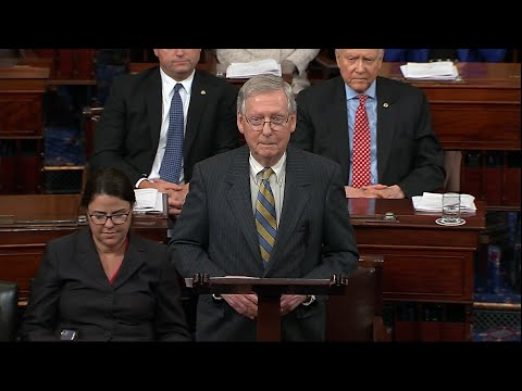 """Mitch McConnell: Democrats got """"their very own government shutdown"""""""