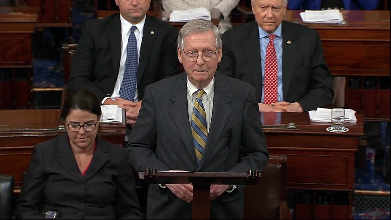 Mitch McConnell Is As Mitch McConnell Does