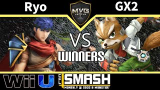 MVG|Ryo (Ike) vs. GX2 (Fox) - SSB4 Winners - CFL Smackdown