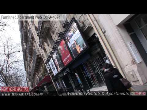 Paris, France - Video tour of a furnished apartment on Rue Jacob (Saint-Germain-des-Prés)