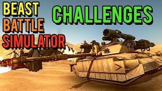 Beast Battle Simulator Gameplay German - End Game mit Tank Units