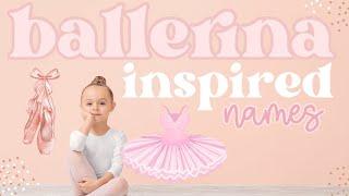 9 unique and rare ballerina inspired girl names|| soft, elegant + girly baby girl names screenshot 1