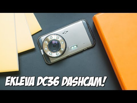 Ekleva DC36 Dashcam Review - Extreme Night Vision!