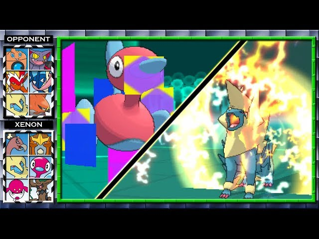 Conversion Porygon2 Rains Terror! (Pokemon X and Y Wifi Battle) #29 Xenon3120 vs Anubis