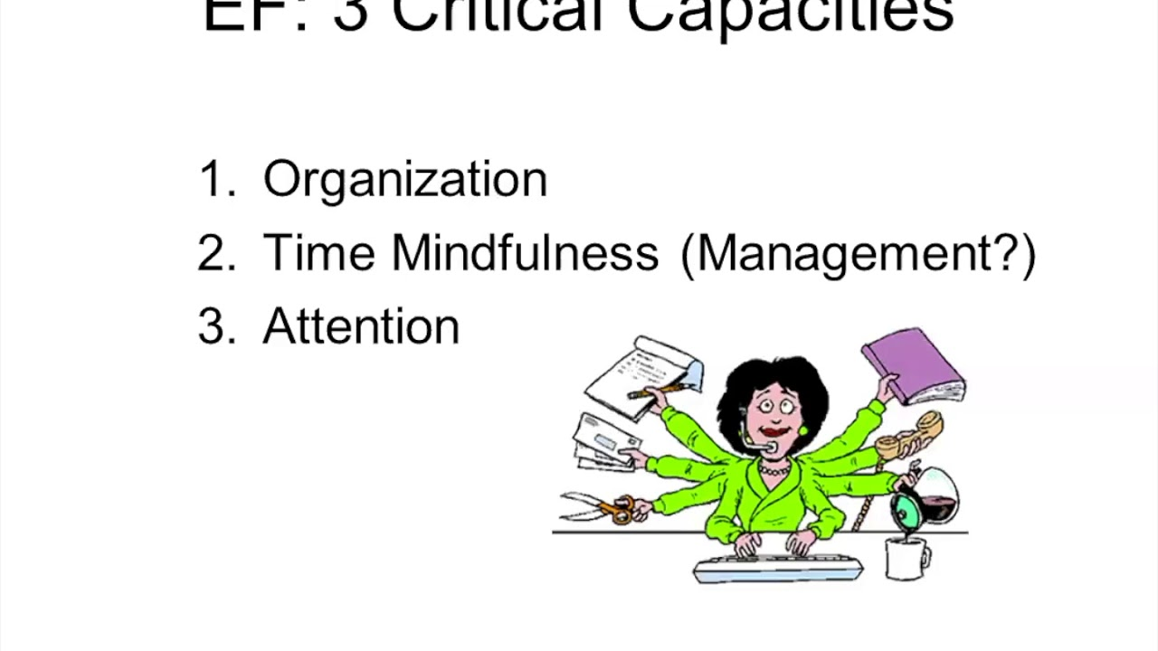 Executive Function Essential Part Of >> Essential Executive Functioning Skills For Back To School Screencast