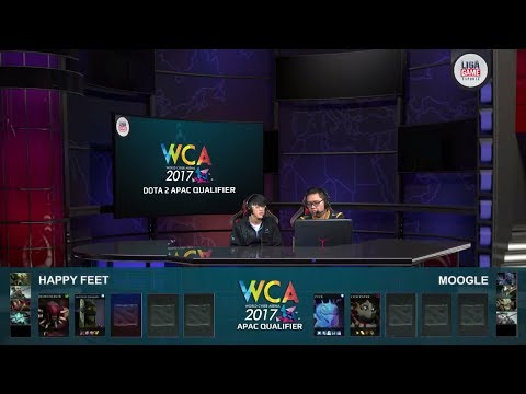 LIVE: Happy Feet vs Moogle @WCA 2017 APAC Main Event with @Varizh @Justincase