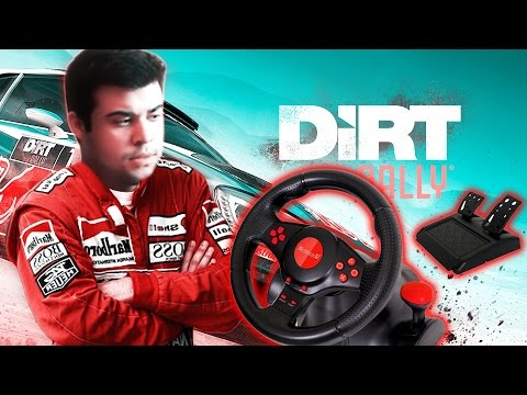 DiRT 3 OYNUYORUM    Logitech Formula Racing Wheel Direksiyon (1080P 60FPS)