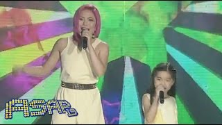 "Yeng Constantino, Darlene Vibares sing ""Time In"" on ASAP"