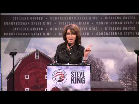 Governor Sarah Palin's Speech At The Iowa Freedom Summit
