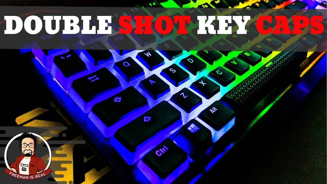 HyperX Double Shot PBT Keycaps | The Best Custom Keycap set for RGB  keyboards