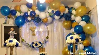 ቀላል የልደት ዲኮር / Birthday Balloon Garland #ሀበሻ #diy