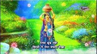 राधा ढूंढ़ रही किसी ने मेरा श्याम देखा | सावन का राधा कृष्ण भजन | RadhaDhundhRahiKisiNeMeraShyamDekha