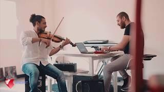 ٣ دقات قلبى- Azmy Magdy Azmy (Violin Cover) IHeart