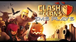 TMS PLAYS Clash Of Clans   Halloween Update