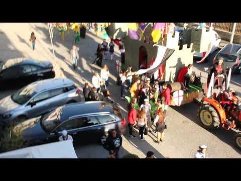 KAGANIÇO animando paragem do desfile SÁBADO DE CARNAVAL de Carregal do Sal - 02março2019