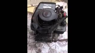 ralentit trop bas moteur de tondeuse