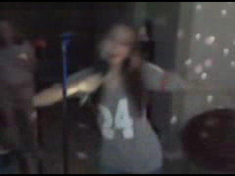 Ash and Linz karaoke