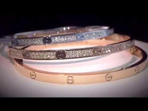 Vcarpelscom Cartier Love Bracelet Sm Diamonds Youtube