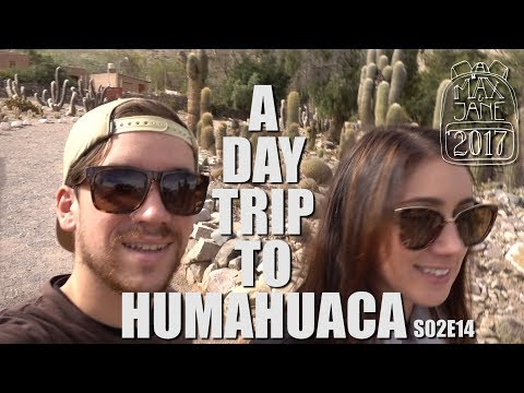 Humahuaca, Argentina | Seeing our first Cactus! | South America Travel Vlog E14