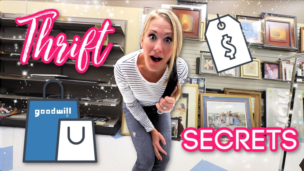 *NEW* Thrifting Secrets & Flips for your Home...that are actually helpful!