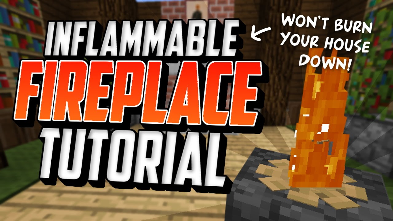 Inflammable Fireplace Tutorial Won T Burn Your House Down Youtube
