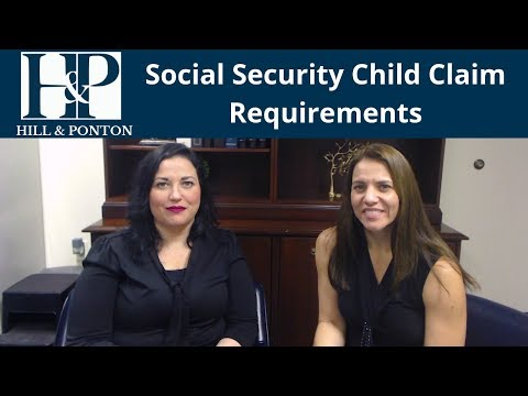 Social Security Child's Claim Age Requirements
