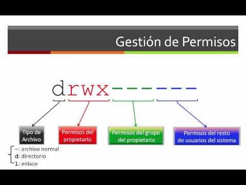 Ubuntu   11.- Gestión de permisos   1.- chmod, chown y chgrp