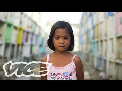 スラム墓地に生きる人々 - Cemetery Slum