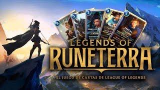 NUEVO JUEGO DE RIOT GAMES | Legends of Runeterra