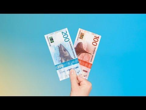 Nye sedler - nye sikkerhetselementer
