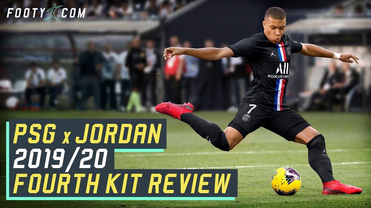 psg x jordan 2019 20 4th shirt kit review
