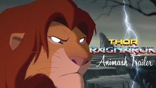 Thor Ragnarok - Animash Trailer