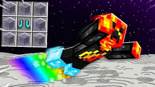 7 Items You Can ONLY Craft on the MOON!  Minecraft