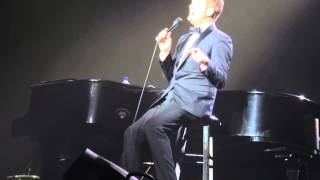 Michael Buble smile in belfast 2014