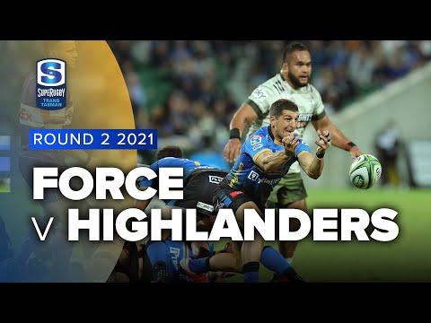 Download Super Rugby Trans Tasman | Force v Highlanders - Rd 2 Highlights