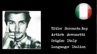[Italian Rap] Jovanotti - Serenata Rap {HD}