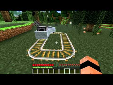 Minecraft Blocks & Items: Powered Minecarts